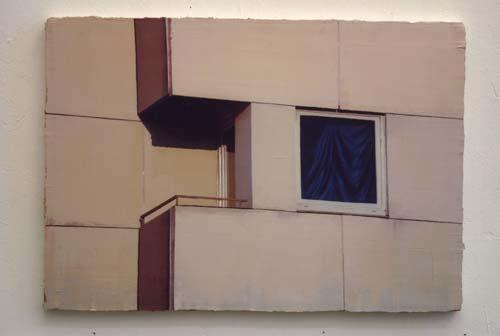 Daniel Behrendt, o.T., 45 x 65cm, Öl auf Leinwand, 2006