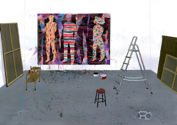 "Paetrick Schmidt ""Studio View"""